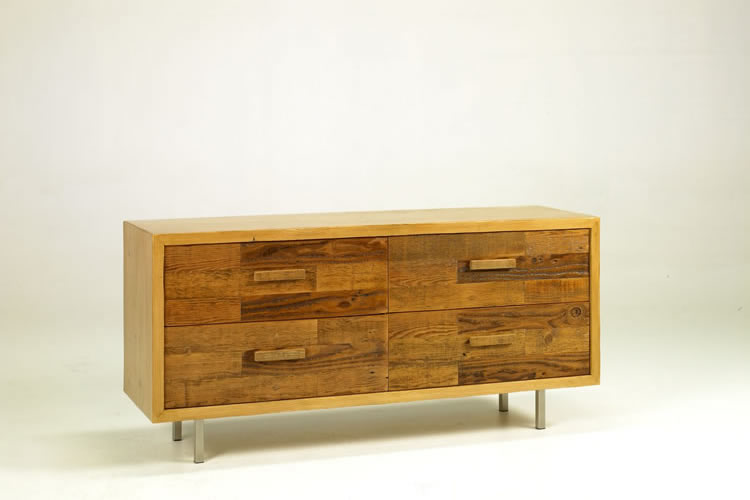 wilcox dresser eclaimed wood - Reclaimed Wood Furniture Made in Los Angeles