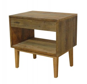 A Wilshire rustic end table web 300x288 - Eco Friendly Furniture for Earth Day - Made in Los Angeles