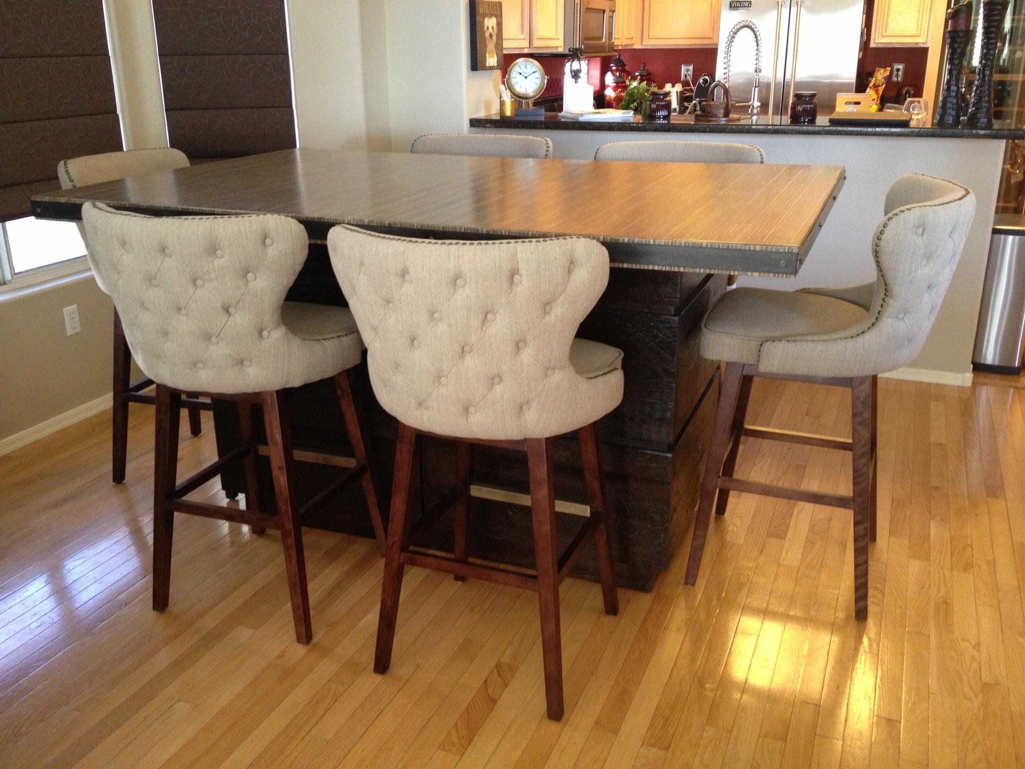 Custom Kirei Kitchen Table - SKG Design