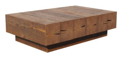 Beam coffee table - Made from reclaimed wood by Urban Woods