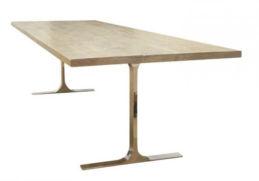 Hazen Table - rustic grey - Made from reclaimed wood by Urban Woods