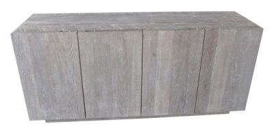 Hazen credenza Made from reclaimed wood by Urban Woods 400x198 - Hazen Credenza 4 Door