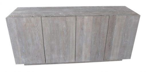 Hazen 4 door credenza grey