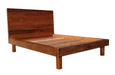 Stassi Bed - rustic raw