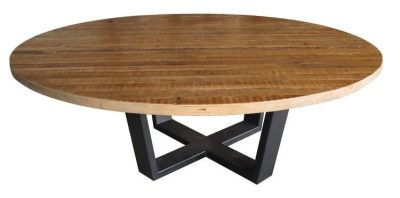 Vienna Metal Base Dining Table