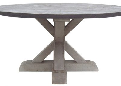 Bowmont Round Trestle table 400x284 - bowmont trestle