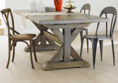 Bowmont Trestle dining table 400x284 - bowmont trestle